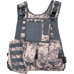 VESTA TACTICA PLATE CARRIER HARNESS ACU DIGITAL UCP
