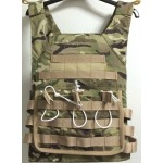 VESTA MOLLE JUMPING PLATE CARRIER MULTICAM