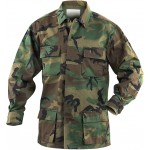 VESTON BDU CAMUFLAJ WOODLAND US [MILTEC]