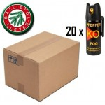 PACHET 20 SPRAY LACRIMOGEN PIPER KO FOG DISPERSANT 50 ML