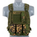 VESTA TACTICA PLATE CARRIER HARNESS RC RUSSIAN CAMO PARTIZAN