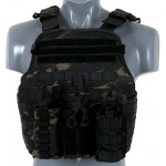 VESTA MULTI-MISSION PLATE CARRIER MB MULTICAM BLACK
