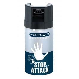 SPRAY IRITANT LACRIMOGEN WALTHER PERFECTA CS STOP ATTACK 40 ML [UMAREX]
